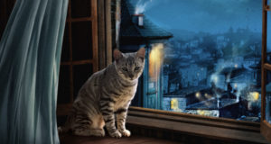 Toyger in the window